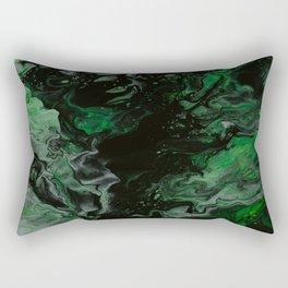 Turquoise marble Rectangular Pillow