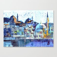 Üsküdar Sunset Canvas Print