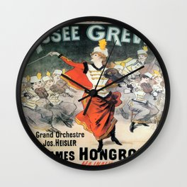 Vintage poster - Musee Grevin Wall Clock