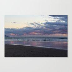 Pink Sunset Canvas Print