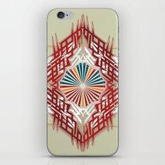 abstrkt placement iPhone & iPod Skin
