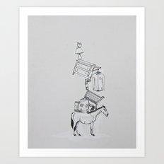 Hop On Pop Art Print