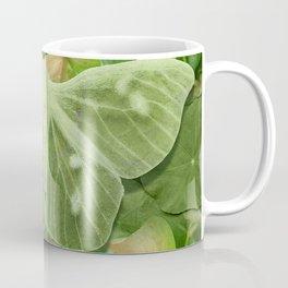 Green Glow Butterfly Coffee Mug
