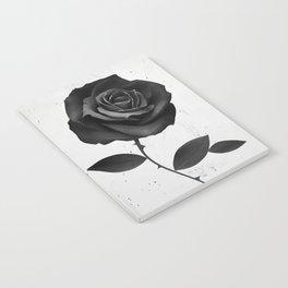 Fabric Rose Notebook