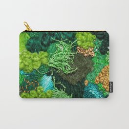 Moss Patch Carry-All Pouch