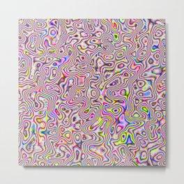 rainbow acid trip Metal Print