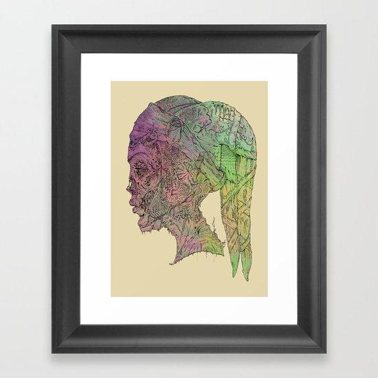 Aayla Secura Framed Art Print