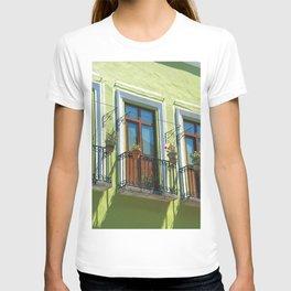 Balconies of Puebla  T-shirt