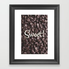 Sweet! Framed Art Print