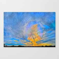 Sun Dogs and Desert Visions I Canvas Print
