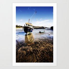 Lyme Regis Harbour Art Print