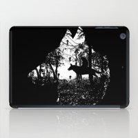mononoke iPad Cases featuring Mononoke Forest by kamonkey