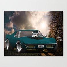 70's Corvette Canvas Print