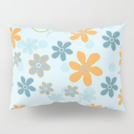 Handbag Heaven Blues - detail Pillow Sham