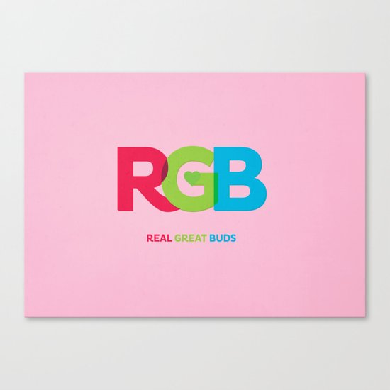 Real Great Buds Canvas Print