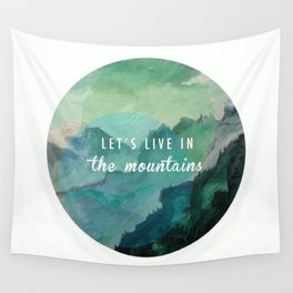 Mountain Living Wall Tapestry
