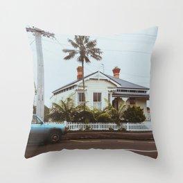 Devonport Architecture Throw Pillow