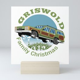 The Legendary Griswold Family Station Waggon Flyin' High no border Mini Art Print