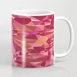 Triangles Red Coffee Mug