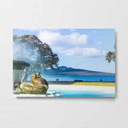 New Zealand Mission Bay Auckland  Metal Print