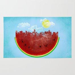 Watermelon City Rug