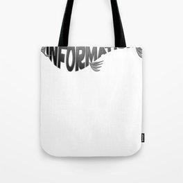 Info Fish Tote Bag
