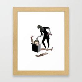 jack in the box Framed Art Print