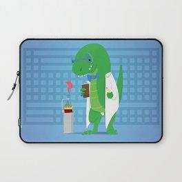 Dinosaur Scientist Laptop Sleeve