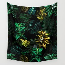 TROPICAL GARDEN VIII Wall Tapestry