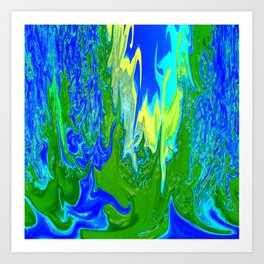 Here comes the waters.... Art Print