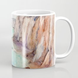 Cliffs at Normandie WC160404c-11 Coffee Mug
