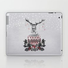 Christmas Deer (by Mariam & Nika) Laptop & iPad Skin