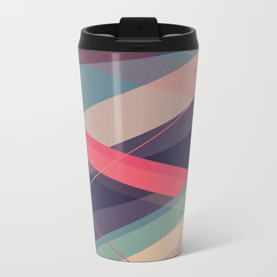 Shockwave Metal Travel Mug