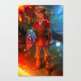 Hero of Time - Fire Temple Canvas Print