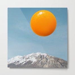 sunrise (Yolk rise) Metal Print