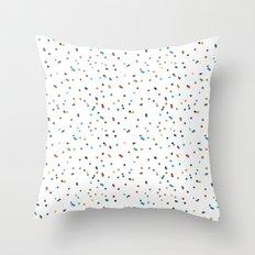 eraser dots Throw Pillow