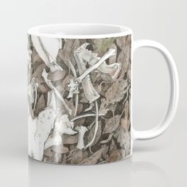 Assortment of Bones No. 2 Coffee Mug