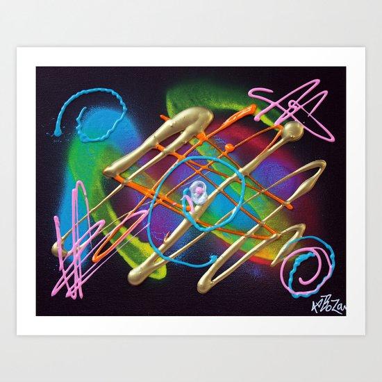 Electric Nights Art Print
