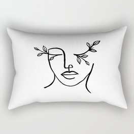 Beauty is in the eyes of the beholder Rectangular Pillow