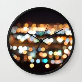 focus lights Wall Clock
