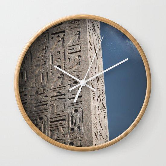 Egyptian Moon Wall Clock