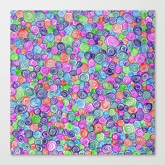 Do the Twist (bright) Canvas Print