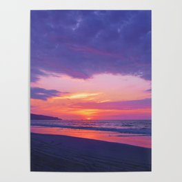 Broken sunset by #Bizzartino Poster