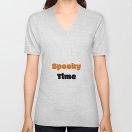 Spooky time Unisex V-Neck