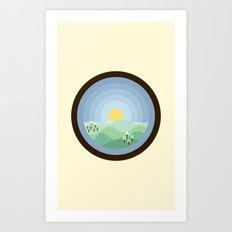 Hibernum Art Print