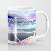 skyline Mugs featuring Skyline by GS Designs