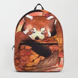 Cute Red Panda Backpack