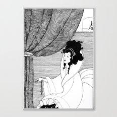 Art Nouveau Posters: The Arrival Canvas Print