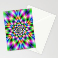 Star in Neon Lights Stationery Cards