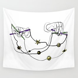 Single Line - Puppeteer of the Youniverse Wall Tapestry